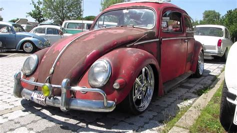 vw beetle red oval ragtop @ nazereth 2014 - YouTube