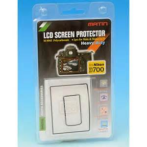 Polycarbonate LCD Screen Protectors For Nikon D700 - Best