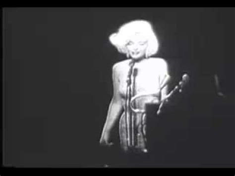 Marilyn Monroe Happy Birthday - YouTube