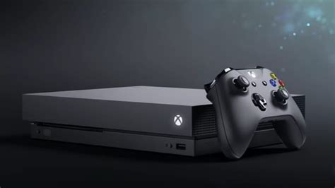 The Xbox One X is poised to be the world's most powerful
