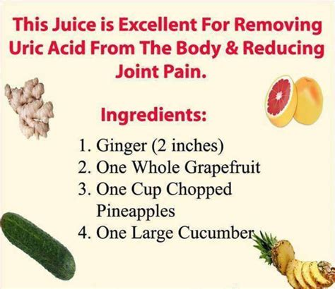 No More Pain In Joints And Uric Acid With This Natural