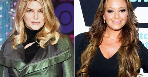 Kirstie Alley Addresses Scientology Drama With Leah Remini