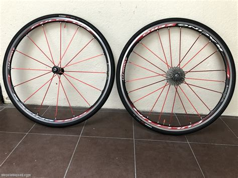 Fulcrum Racing Zero 2-Way Fit (Red Spokes) w/ tyre+cassette
