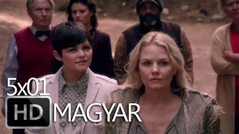 Once Upon a Time 5x01 Promo magyar felirat - YouTube