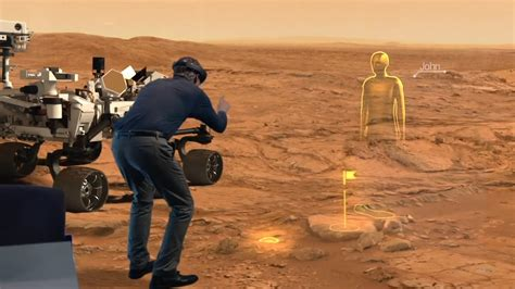 Microsoft's HoloLens goggles mean Nasa scientists can work