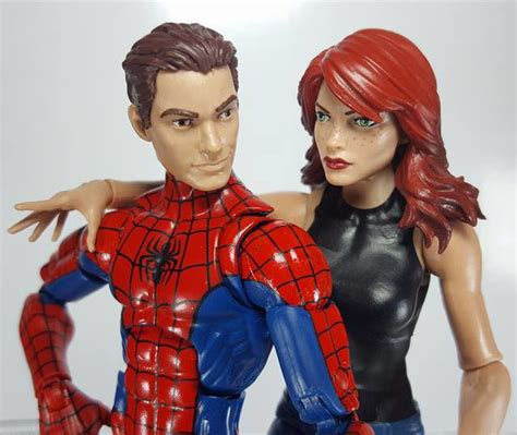 Marvel Legends Mary Jane Spider-Man Two-Pack In-Hand