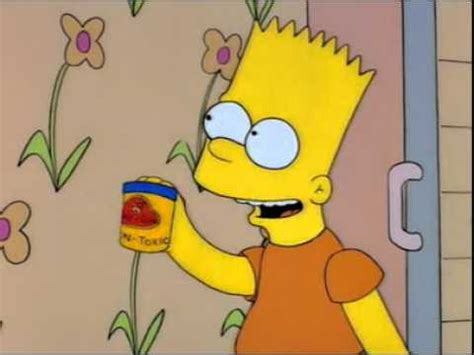 The Simpsons - Homer eats play doh - YouTube