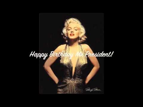 Happy Birthday Mr President - YouTube