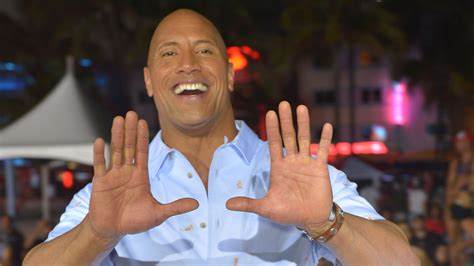 The Rock got hyped, trash talked Golden Tate before Miami