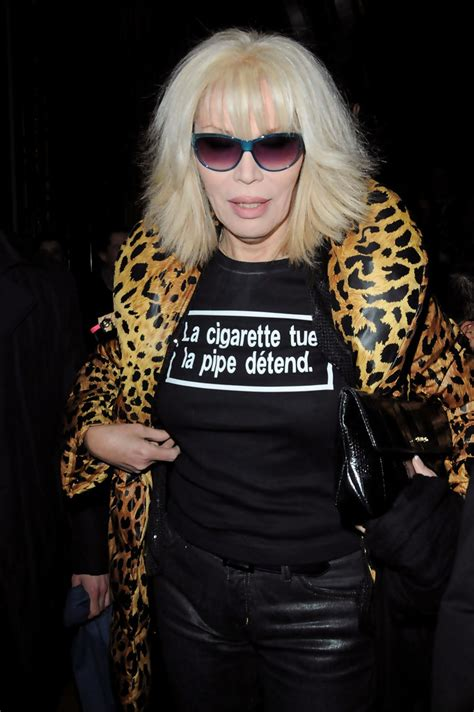 Amanda Lear - Amanda Lear Photos - Paris Fashion Week