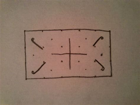 How to draw a celtic / viking knot - easy tutorial - All