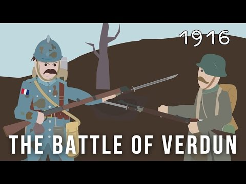 THE BATTLE OF VERDUN, FEBRUARY-DECEMBER 1916 (Q 23892)