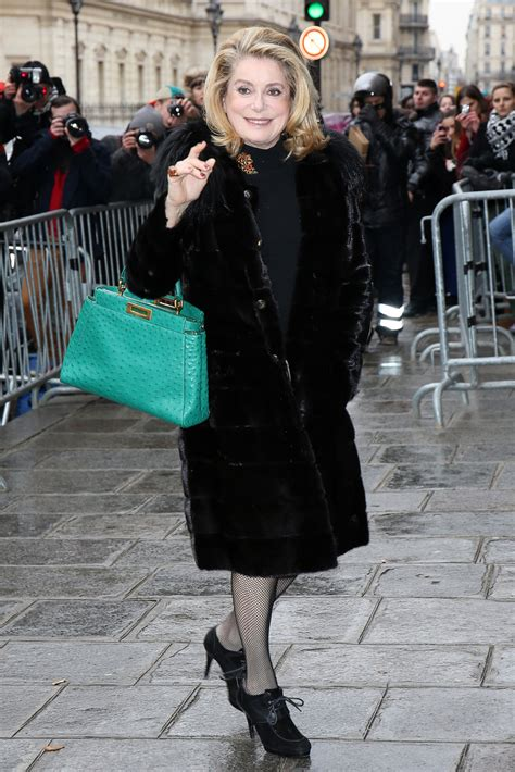 Catherine Deneuve Photos Photos - Arrivals at the Jean