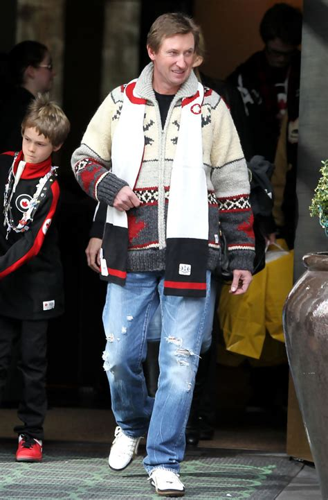 Wayne Gretzky in Wayne Gretzky and His Family Out and