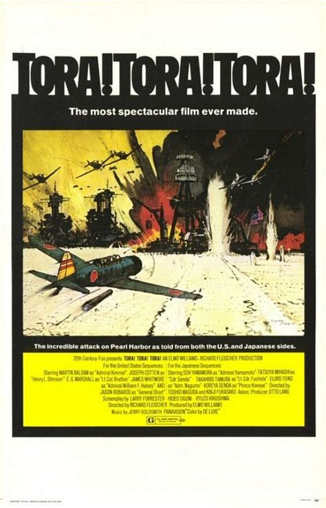 Tora! Tora! Tora! Movie Poster (#3 of 3) - IMP Awards