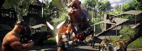 Dinosaurs vs Humans in New Primal Carnage PC Game | Gamerz