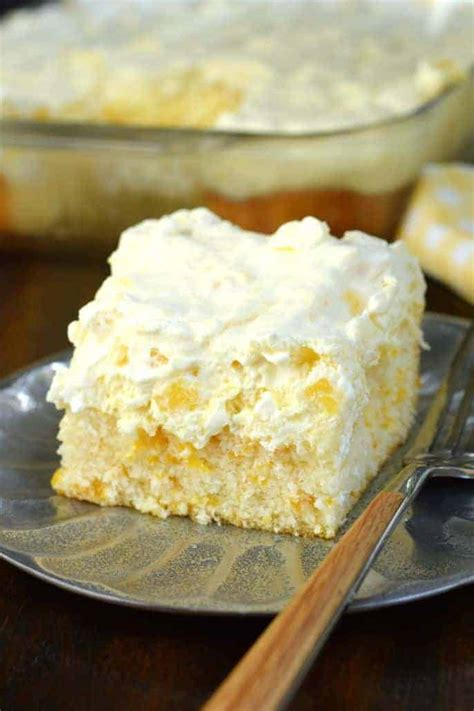 Pineapple Orange Cake - Shugary Sweets