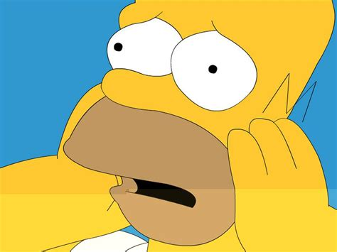"""Doh!"": Homer Simpson tries to vote for Obama"