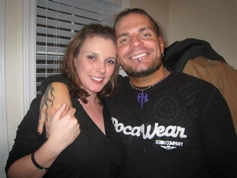 Jeff Hardy Poses With His Girlfriend Beth Britt - WWE