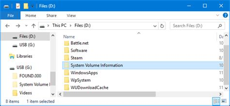 "What Is the ""System Volume Information"" Folder, and Can I"