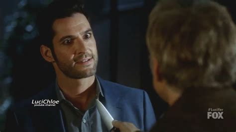Lucifer 3x07 Reese Threatens Luci with Knife What Do You