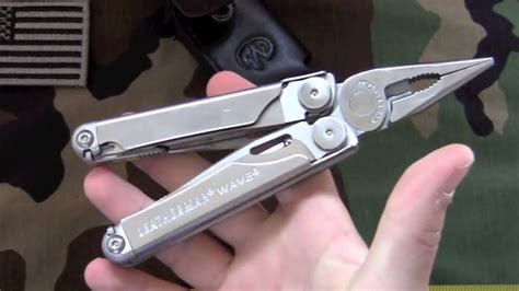 The Leatherman Wave | Multi-tool Review - YouTube