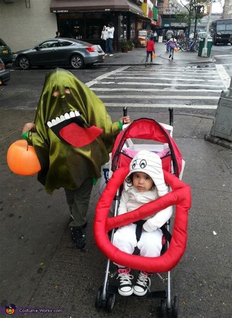 Slimer and the Ghostbuster Sign Halloween Costume | Best