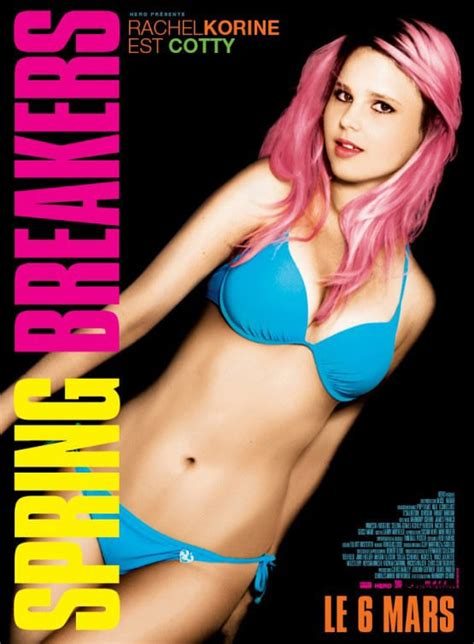 Spring Breakers International Character Posters Drop