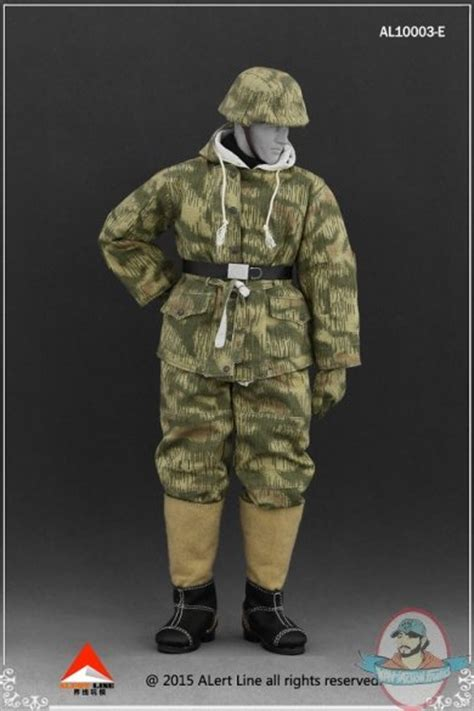 1:6 SS & Wehrmacht Snow Reversible Cotton Padded Jacket AL
