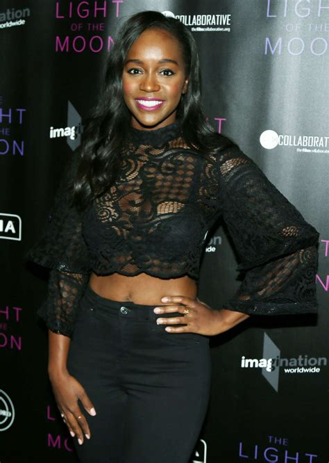 Aja Naomi King – 'The Light of the Moon' Premiere in Los