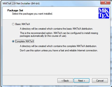 How to install latex in windows 7 ~ My Blog
