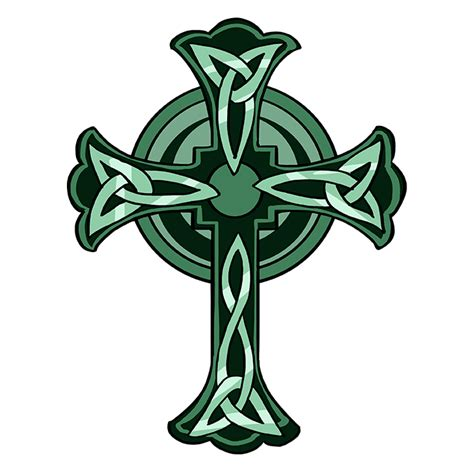 How to Draw a Celtic Cross - Really Easy Drawing Tutorial